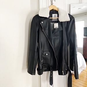 NWT Urban Outfitters Leather Jacket